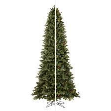 shop ge 9 ft pre lit aspen fir artificial tree with
