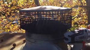 chimney spark arrestor repair youtube