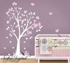 Nursery Wall Decorations Removable Stickers Baby Nursery Decor Soft Purple Nursery Wall Decals For Baby