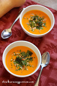 butternut squash soup with roasted poblano chiles