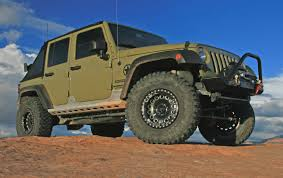 racing jeep wrangler project sgt rocker new shoes from weld racing and mickey