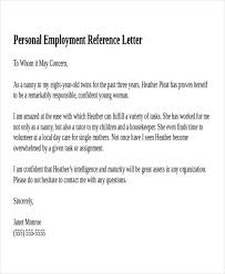 excellent personal recommendation letter sample for your job