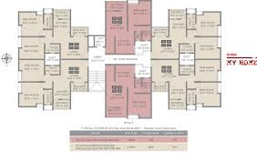 floor plans 1 bhk and 2 bhk residential apartments for sale in