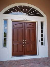 paint a metal door to look like it u0027s wood living rich on less