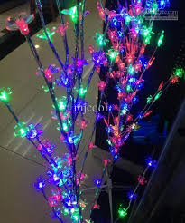 led light snowflakes leaves tree lights led twinkle light l