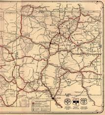 Routing Maps by Old Us 66 Routing Through Nm Madness
