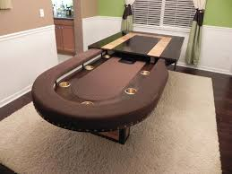 dining room poker table 6598 custom dining room table stealth poker set from http www