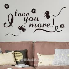 online get cheap insect wall decor aliexpress com alibaba group 8158 home decoration new butterfly insect english i love your more wall 3d stickers can