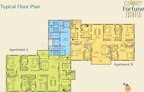 fortune estate in alipore kolkata price location map floor