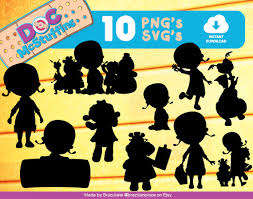 sale doc mcstuffins cliparts disney silhouettes por brazilianplace