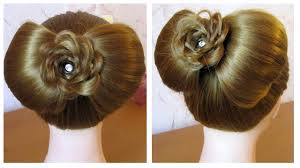 chignon mariage facile a faire chignon noeud coiffure simple et rapide pour fêtes soirée
