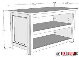 Shoe Storage Bench Diy Adjustable Shoe Storage Bench Fixthisbuildthat