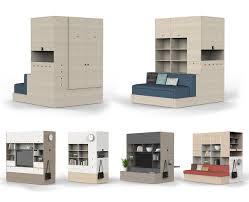 maximize minimal space with robotic furniture design milk