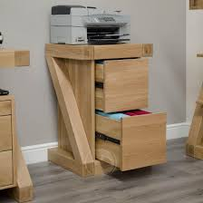 Oak Filing Cabinet 3 Drawer Z Shape Solid Oak Filling Cabinet Oak Furniture Uk