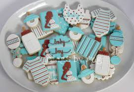 icings by ang baby shower cookies
