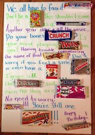 candy bar birthday cards best 25 birthday candy posters ideas on