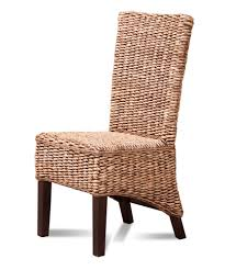 Indoor Wicker Dining Room Chairs Dining Chair Dark Banana Leaf Weave Rattan Furniture Casa