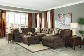 Marlo Furniture Financing by Delta City Chocolate Sectional Sectional Sofa Sets