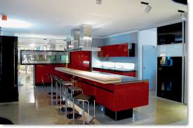 cuisine ilot central design cuisine en ilot central design lot bar cuisines pur es showroom