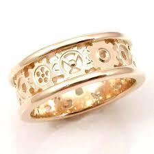 gear wedding ring gear wedding bands tungsten ring kinekt gear ring wedding band