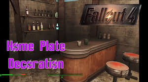 decoration of homes fallout 4 home plate decoration v1 0 youtube