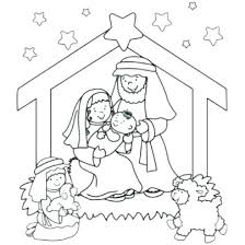 printable coloring pages nativity scenes coloring page nativity nativity scene coloring page colouring page
