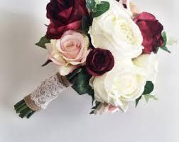 Silk Bridal Bouquet Wedding Bouquets Etsy Uk