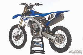 motocross action magazine mxa u0027s 2015 yamaha yz450f motocross test
