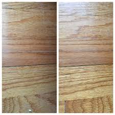 Fix Hardwood Floor Scratches - free home hack how to mask hardwood floor scratches