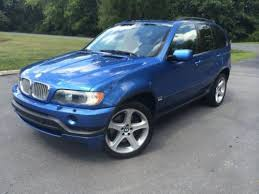 2002 bmw x5 4 6is sell used 2002 bmw x5 4 6is awd estoril blue alcantara in sterling