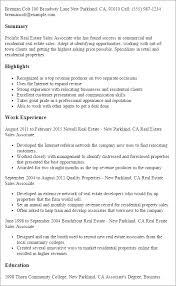 Resume Examples For Sales Associates by Professional Real Estate Sales Associate Templates To Showcase