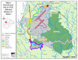 Superfund Sites Map by Keep Your Kids Away From The Pcb Contaminated Dirt Behind Brier