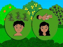 free bible images adam and eve disobey god then hide from him