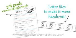 3rd grade sight word sentences u2013manuscript confessions of a