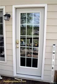 Exterior Back Door Windows Doors Fiberglass Vinyl Aluminum Interior Exterior