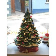 ceramic light up christmas tree ceramic christmas tree l