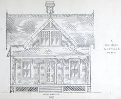 6 room cottage house plan from 1884 leffel u0027s house plan book