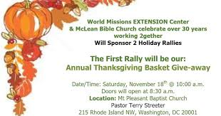 bloomingdale one week from today world missions extension center