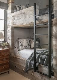 Rustic Bunk Bed Rustic Gray Bunk Bed Design Ideas