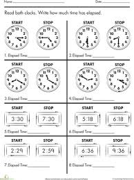 telling time third grade worksheets worksheets