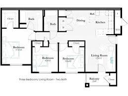 remington apartments floor plans