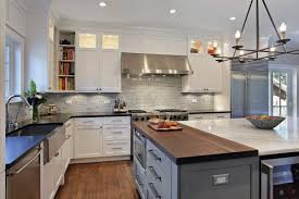 furniture modern kitchen design ideas with types of countertops