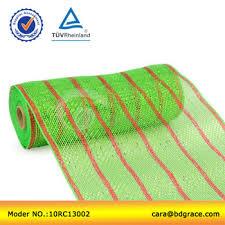 wide mesh ribbon 10 wide inch pp christmas decoration geo mesh ribbon roll buy