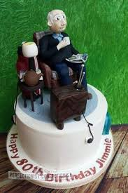 my father in laws 80th birthday cake deserved to be something