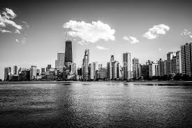 New York City Skyline Wallpaper Black And White Image Gallery Hcpr by Photo Collection Chicago Black And White