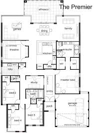 single story 5 bedroom house plans best 25 single storey house plans ideas on story
