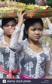 denpasar bali indonesia asia asian women parade dress