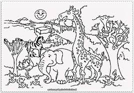 zoo coloring pages preschool zoo coloring pages for preschoolers page image clipart images