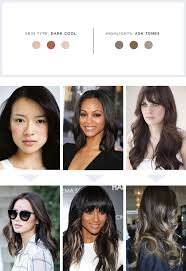 cool long hair the best highlights for your hair and skin tone verily
