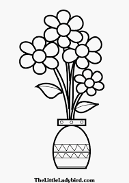 flower vase coloring page flower pot coloring page 13 coloring
